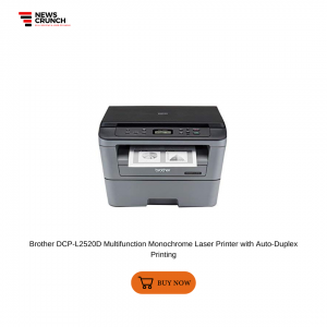 Brother DCP-L2520D Multifunction Monochrome Laser Printer with Auto-Duplex Printing