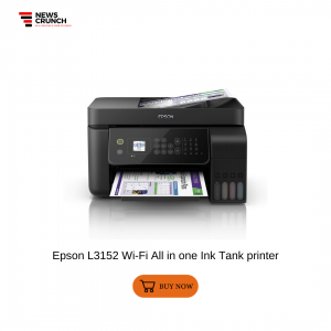 Epson L3152 Wi-Fi All in one Ink Tank printer
