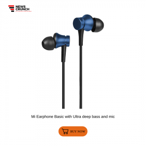Mi Earphone Basic with Ultra deep bass and mic