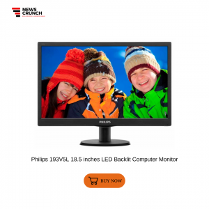 Philips 193V5L 18.5 inches LED Backlit Computer Monitor