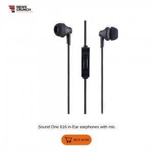 Sound One 616 in-Ear earphones with mic