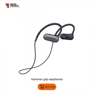 Hammer grip earphones