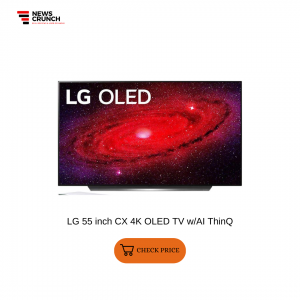 LG 55 inch CX 4K OLED TV wAI ThinQ