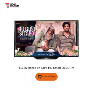 LG 55 inches 4K Ultra HD Smart OLED TV
