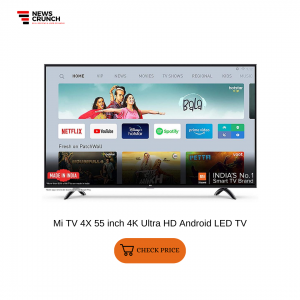 Mi TV 4X 55 inch 4K Ultra HD Android LED TV
