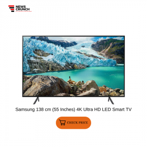 Samsung 138 cm (55 Inches) 4K Ultra HD LED Smart TV