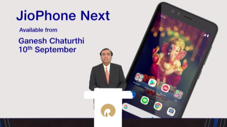 Google And Reliance Jio Team Up For The New Jio Phone