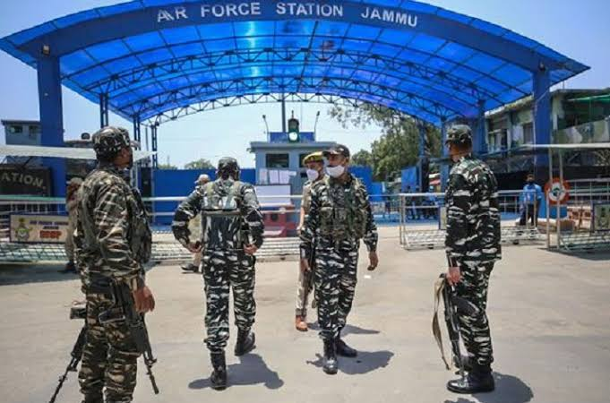 JAMMU AIR FORCE BASE – DRONE ATTACK